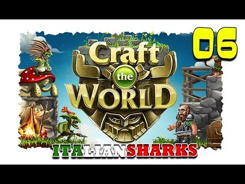 In questo video di craft the world emanuele98 e mamidd vi mostra come costruire casa e sbloccare le trappole.  #italiansharks #crafttheworld #lamontagna