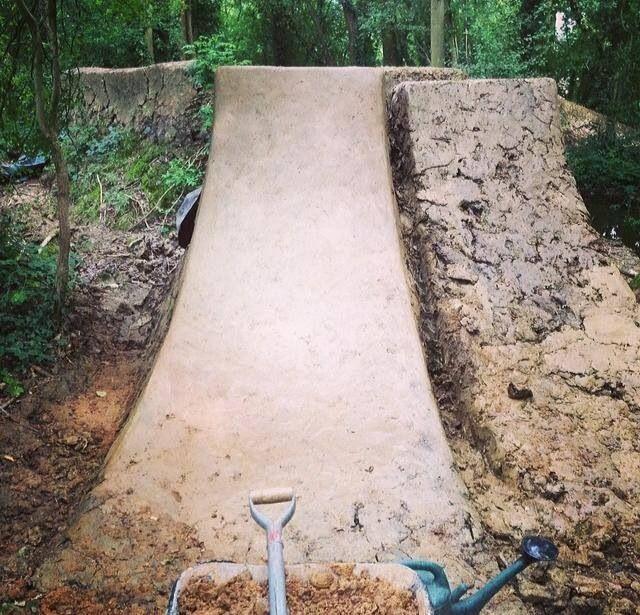 Smooth Launch Dirt Jump Bmx Ramps Jump Park