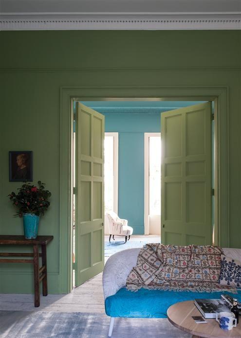 Épinglé par Cam C sur Ambiances colorées Pinterest Ambiance - Peindre Un Mur Interieur