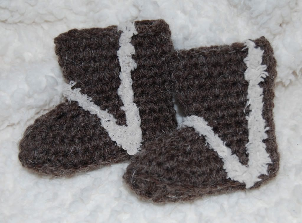 Omg So Cute Baby Uggs Free Crochet Pattern For Baby Booties