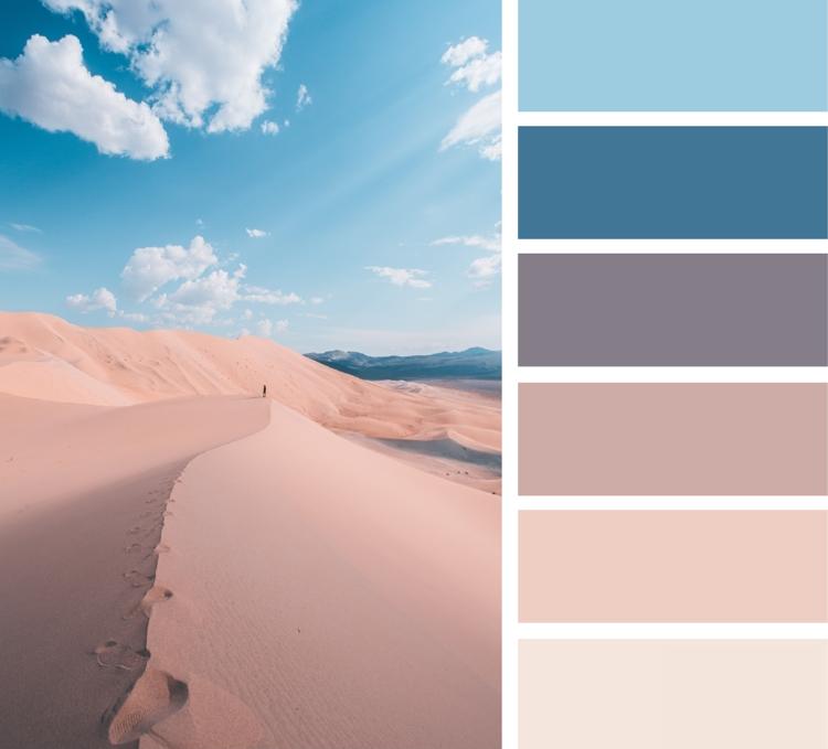 Welche Farbe passt zu Blau? Wir geben Ihnen hier eine kurze Übersicht