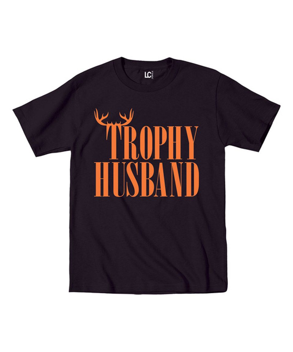 Another great find on #zulily! Black 'Trophy Husband' Tee - Men's Regular by Sharp Wit #zulilyfinds