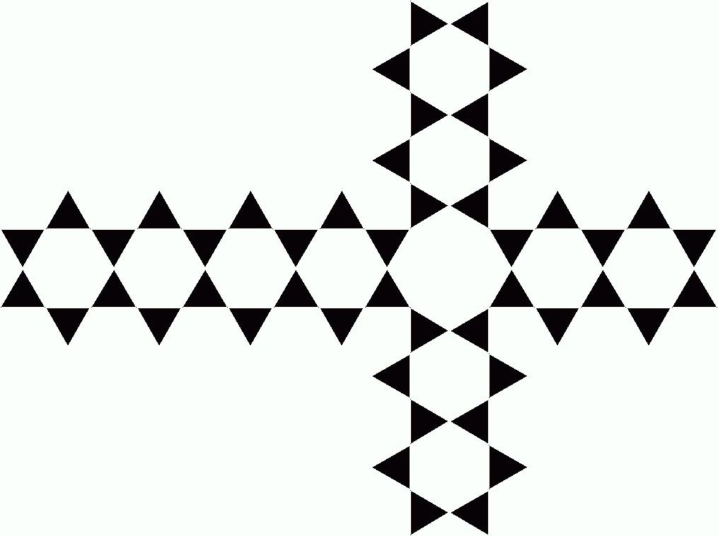 Hybrid Religious Symbol Christian Cross Stars Of David Cross