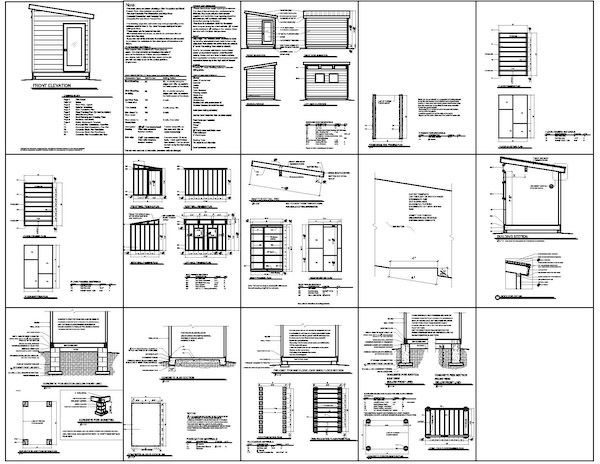 10x14 modern shed plans grow it pinterest for 10x14 shed floor plans