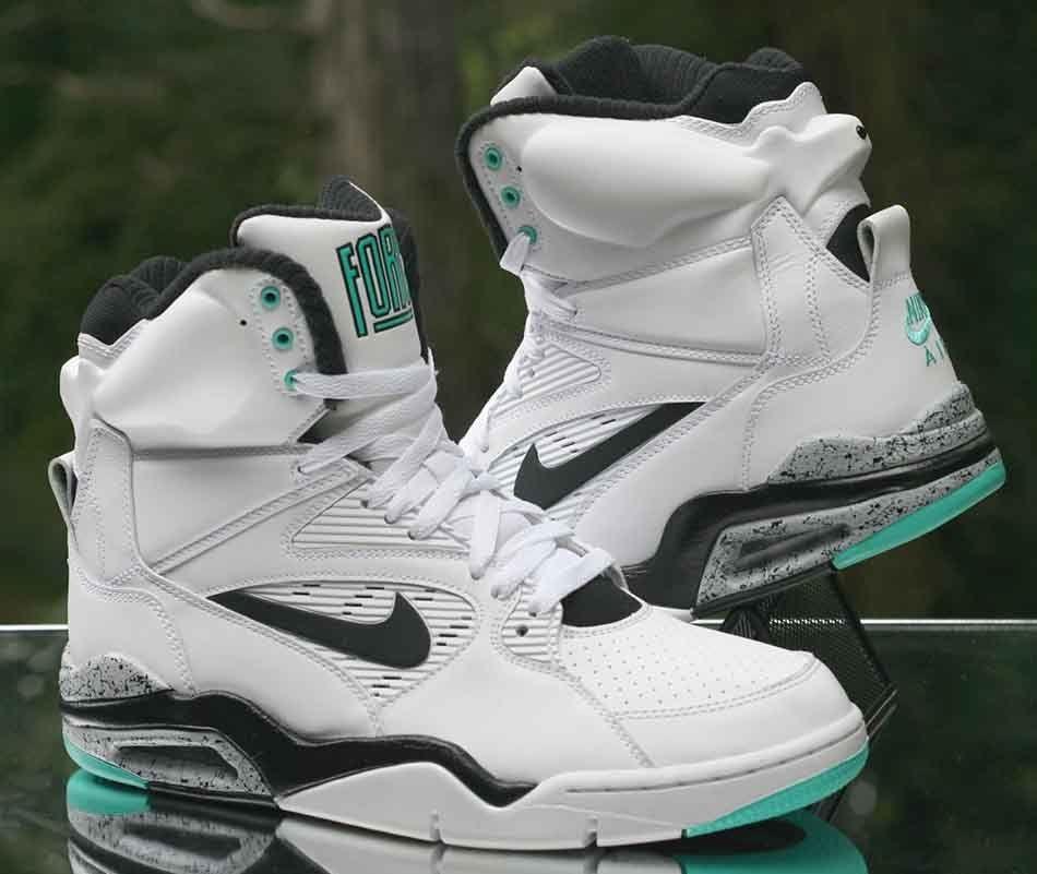 Nike Air Command Force 'Hyper Jade' White Black 684715 102