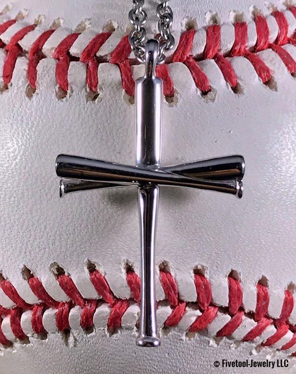 original baseball bat cross pendant | gift ideas | pinterest ...