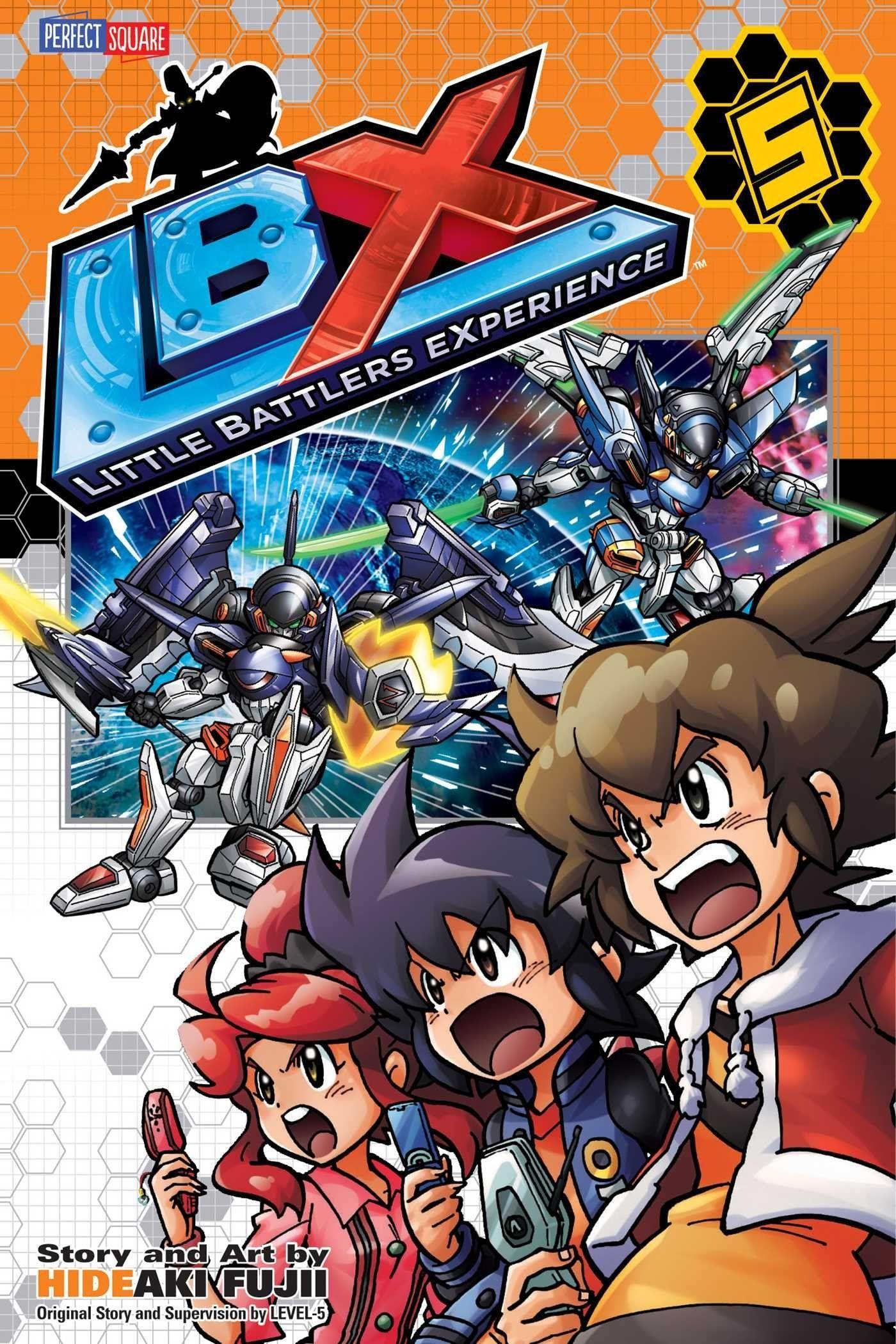 LBX 5: New Hope (LBX)   Products   Comics, Manga, Book cover art