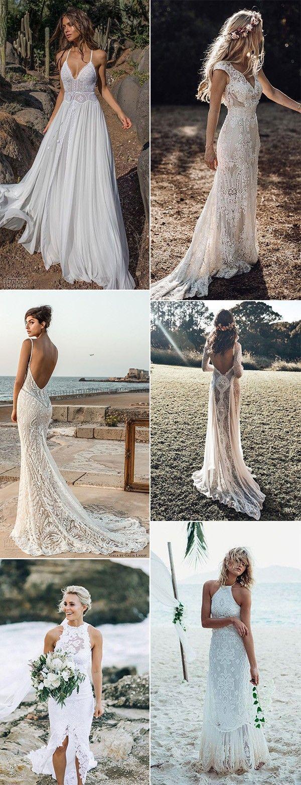 romantic beach wedding dresses 17 #beach #brautkleider sommer
