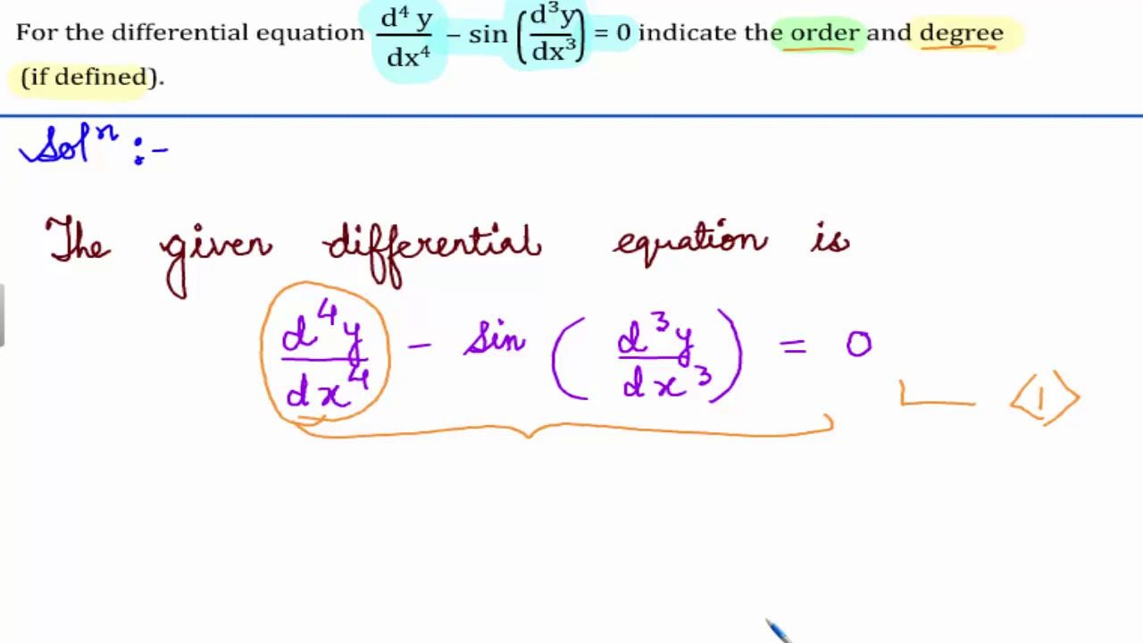 Ncert Class 12 Math Solutions Differential Equations Miscellaneo Maths Solutions Class 12 Maths Math