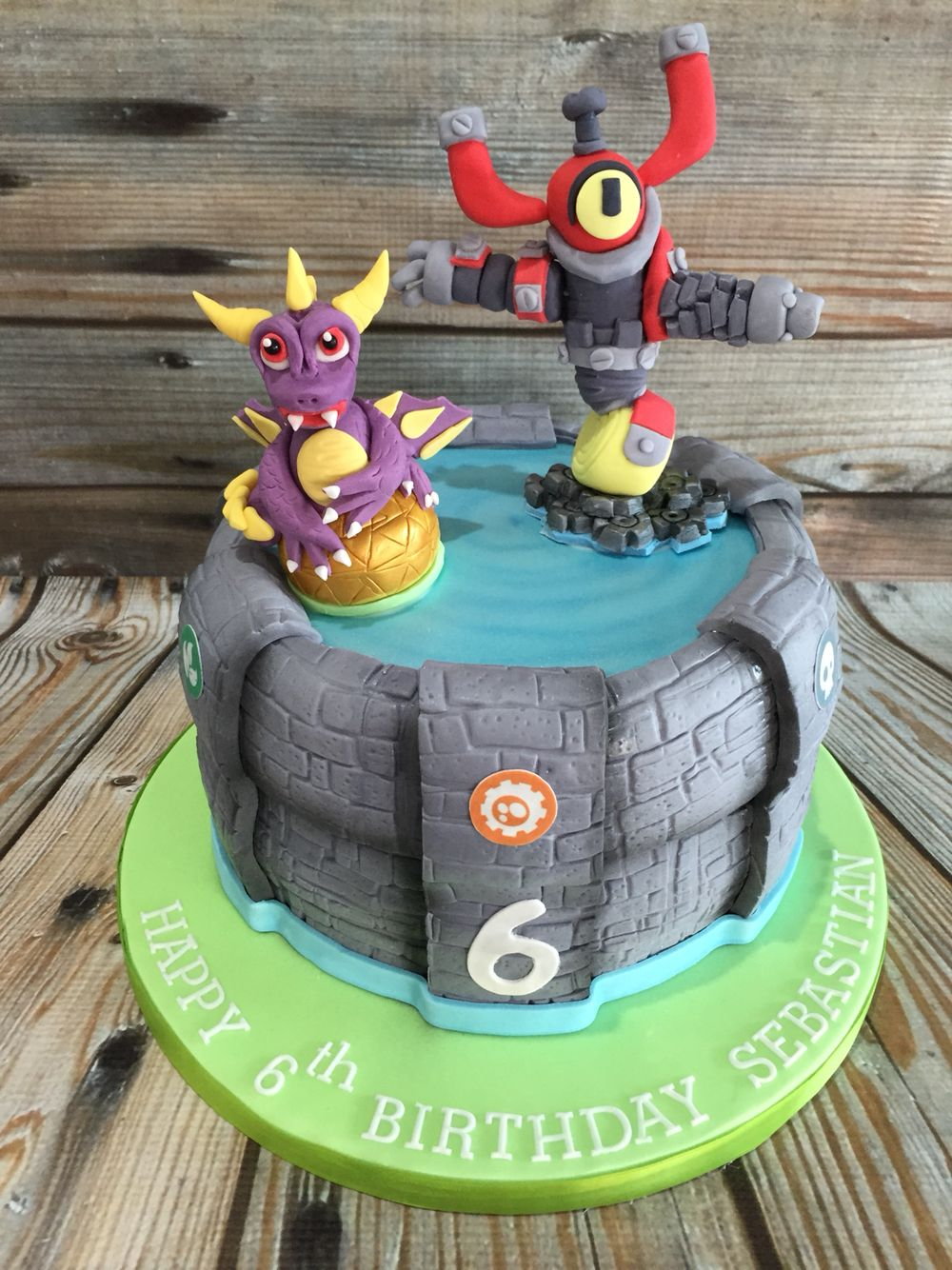 Skylanders Portal Birthday Cake Skylanders Party Pinterest