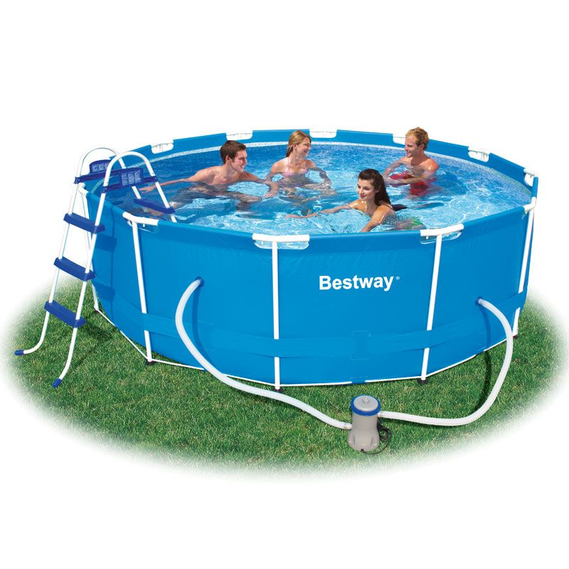 12ft Steel Pro Frame Pool Metal Frame Swimming Pools Bestway Uk Spa Pool Bestway Swimming Pools