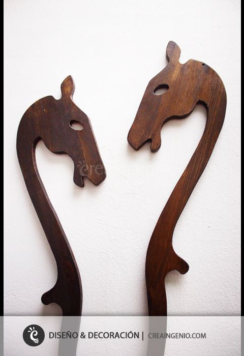 diseo y decoracin material madera natural juguetes caballo de madera con rueda