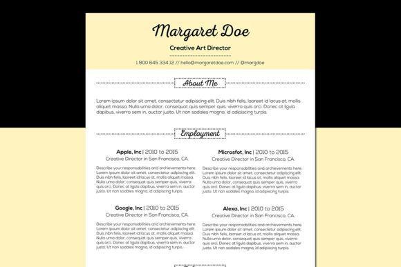 nice Vintage Resume  Letter Template Templates Pinterest