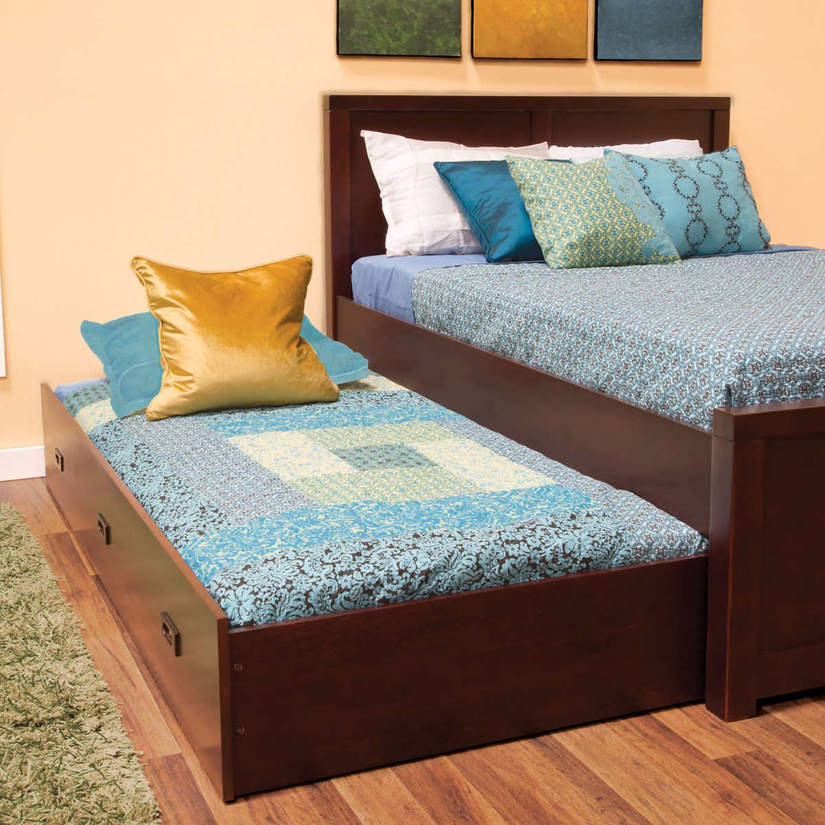 Pin By Thomas On Bedroom Full Bed With Trundle Bed Designs With Storage Bedroom Bed Design