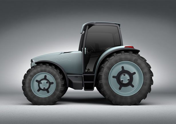 Tractor Wheels Concept : Sao ville tractor for modern agricultural management