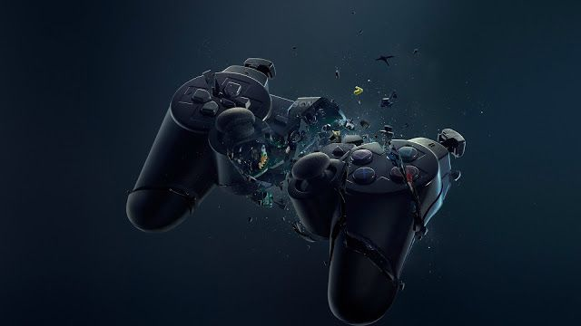 Ps4 Controller Concept Wallpaper Play Stations Fondos Pc