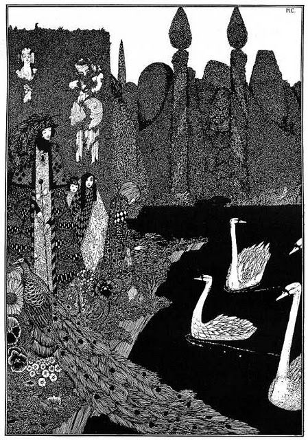 Harry Clarke is one of my major sources of inspiration, if you couldn't tell. :)