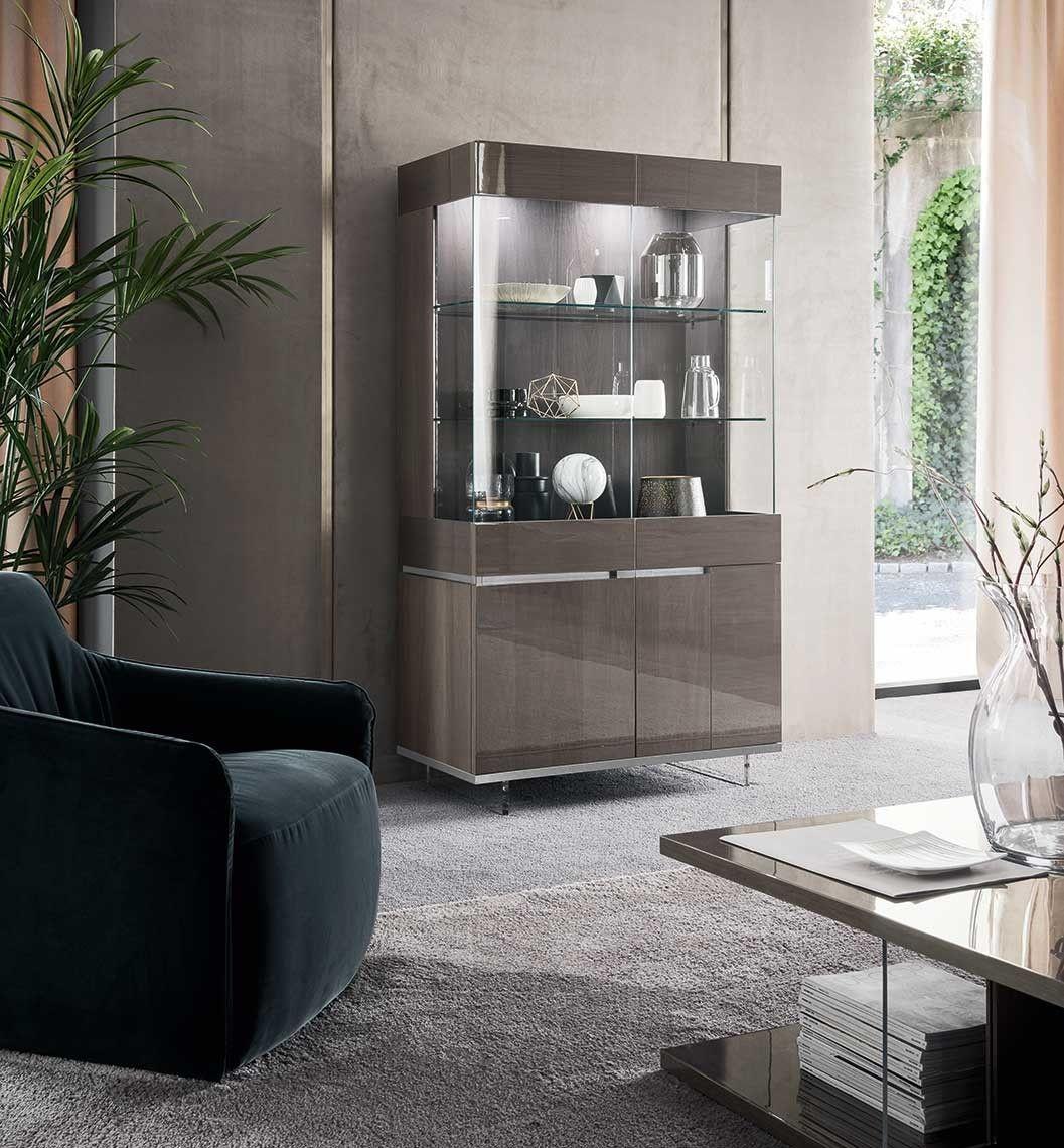 Athena 2 Door Curio Toulipier Alf Da Fre Bed Furniture