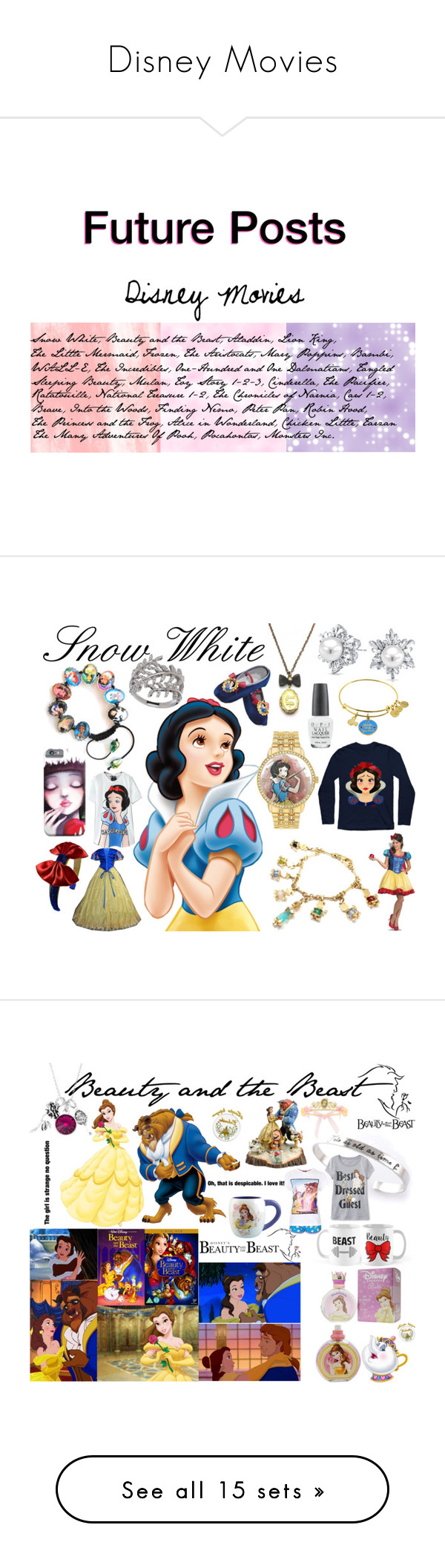 """""""Disney Movies"""" by taradactyl22 on Polyvore featuring art"""