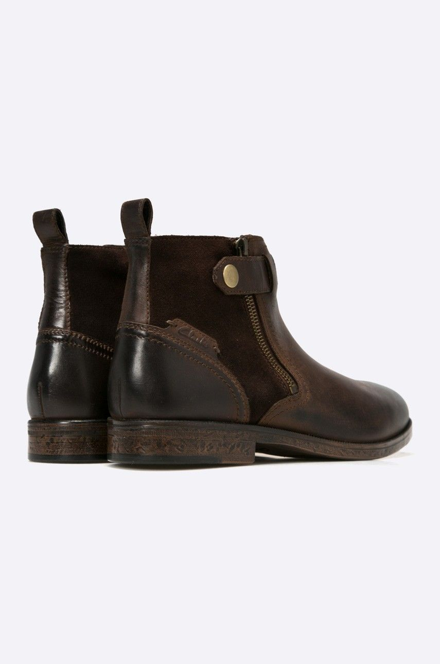 Clarks Buty Wysokie Boots Chelsea Boots Shoes