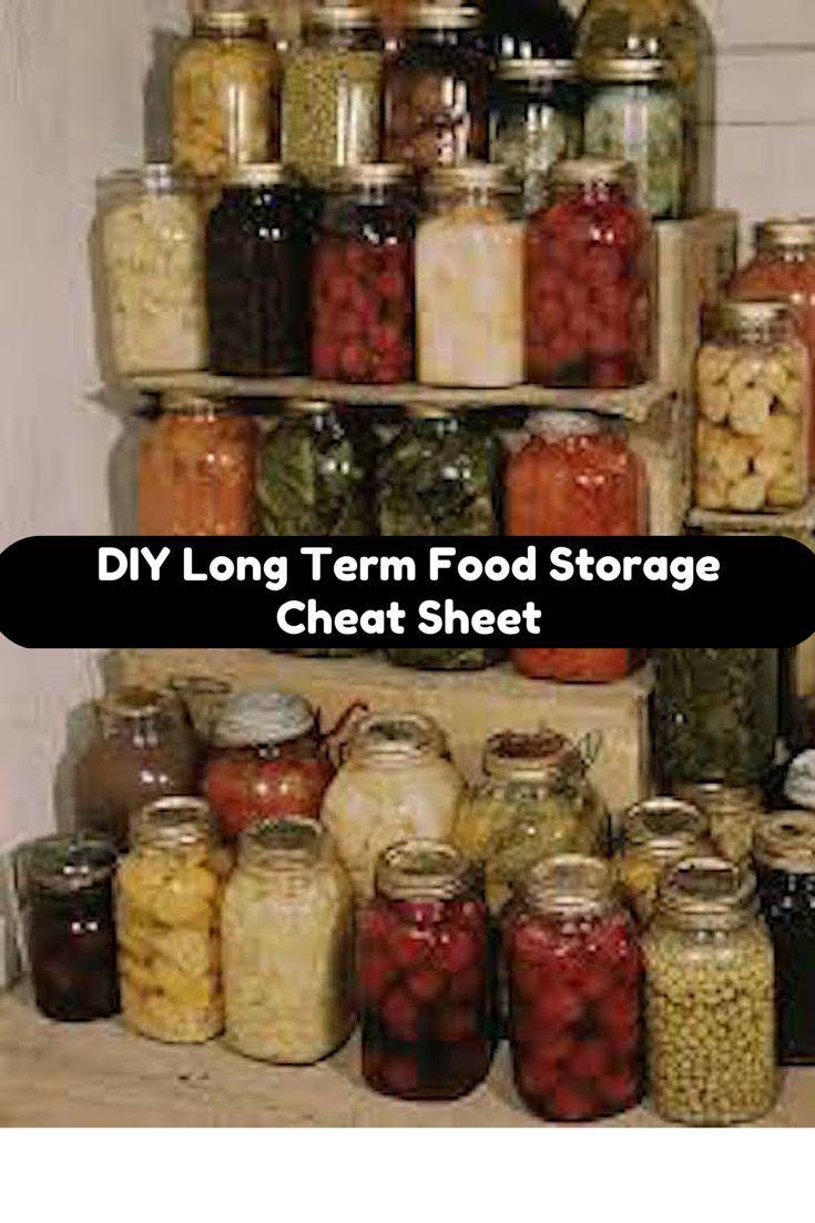 Diy long term emergency food storage best practices