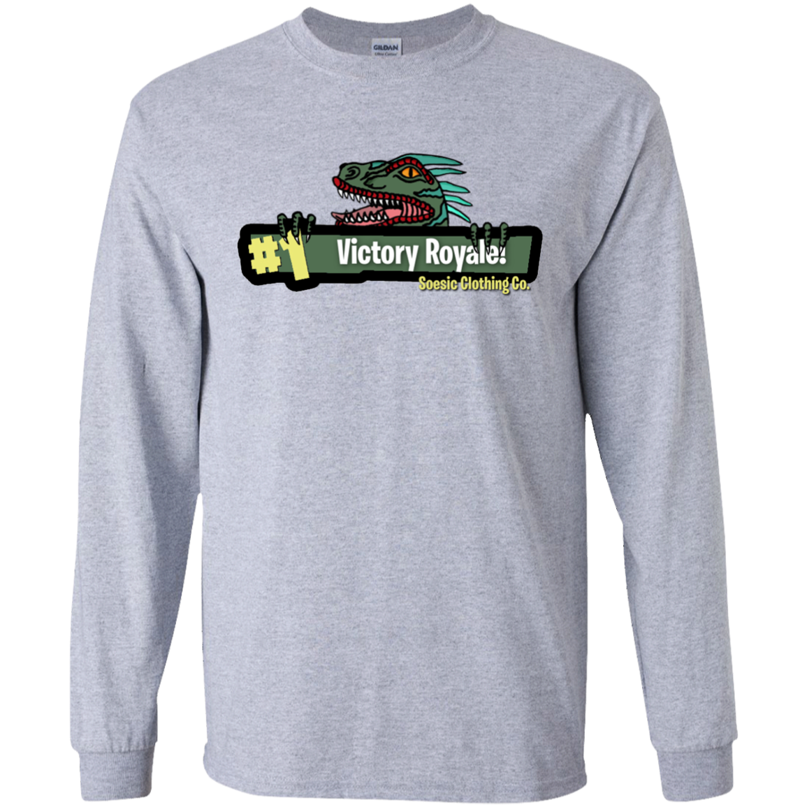 Soesic Victory Royale Fortnite LS T-Shirt in 2020 | Long ...