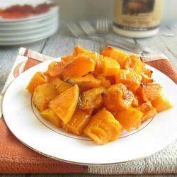 Maple Glazed Butternut Squash