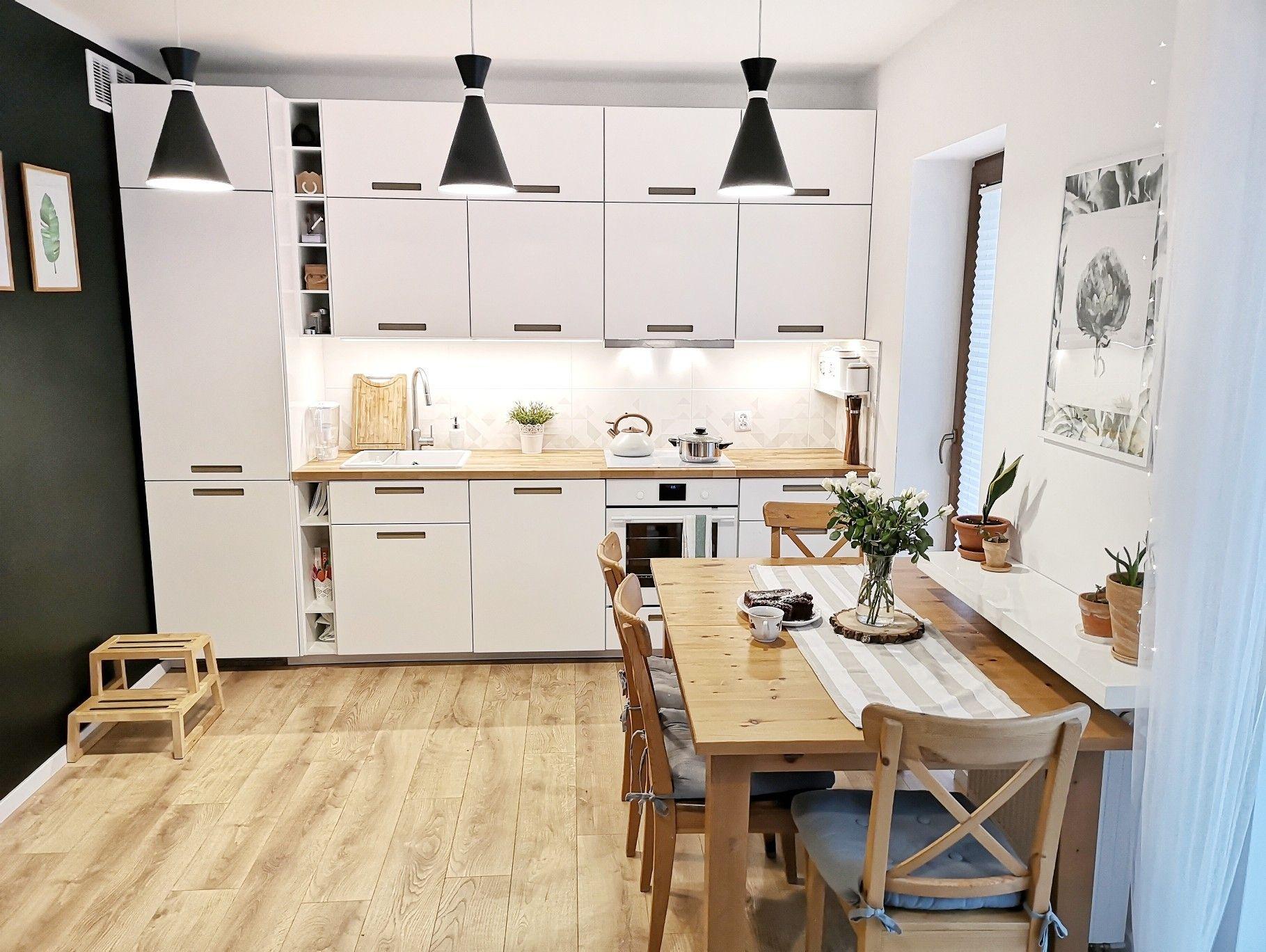 Kuchnia Ikea Marsta Wood Kitchen Home Decor Home
