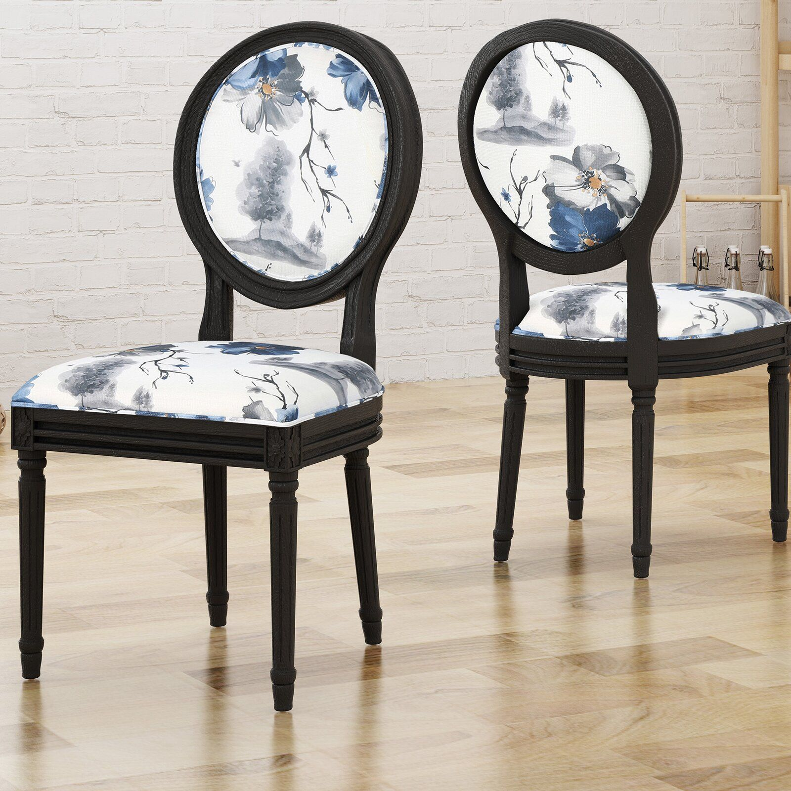 Alcott Hill Rockwood Upholstered Dining Chair Wayfair Dining Chair Upholstery Upholstered Dining Chairs Metal Dining Chairs