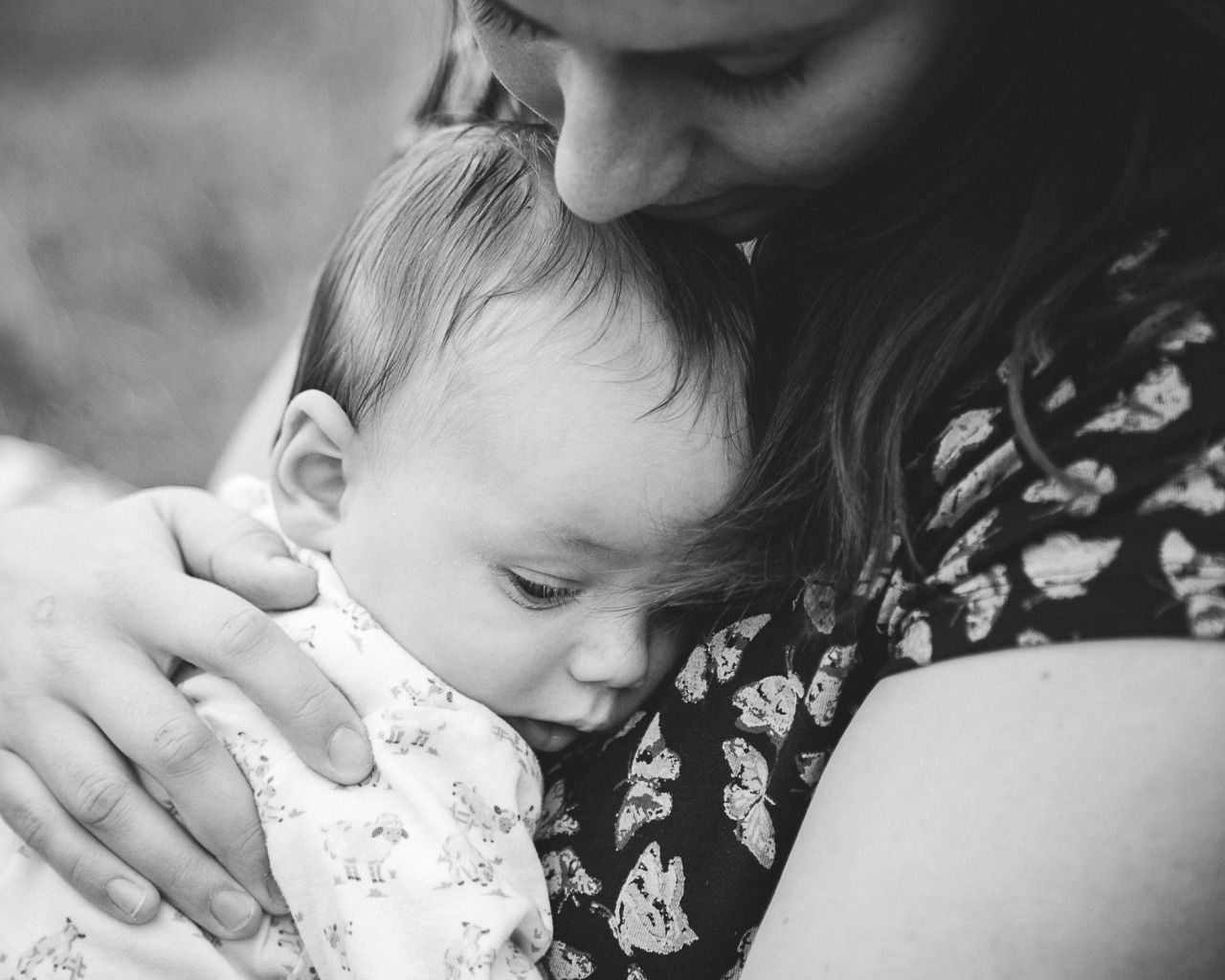 Mother And Baby Breastfeeding Nursing Photo Session By
