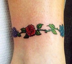 Bracelet Tattoos On Wrist Wrist Tattoo Designs Wrist Bracelet Tattoo Rose Tattoo On Ankle Anklet Tattoos
