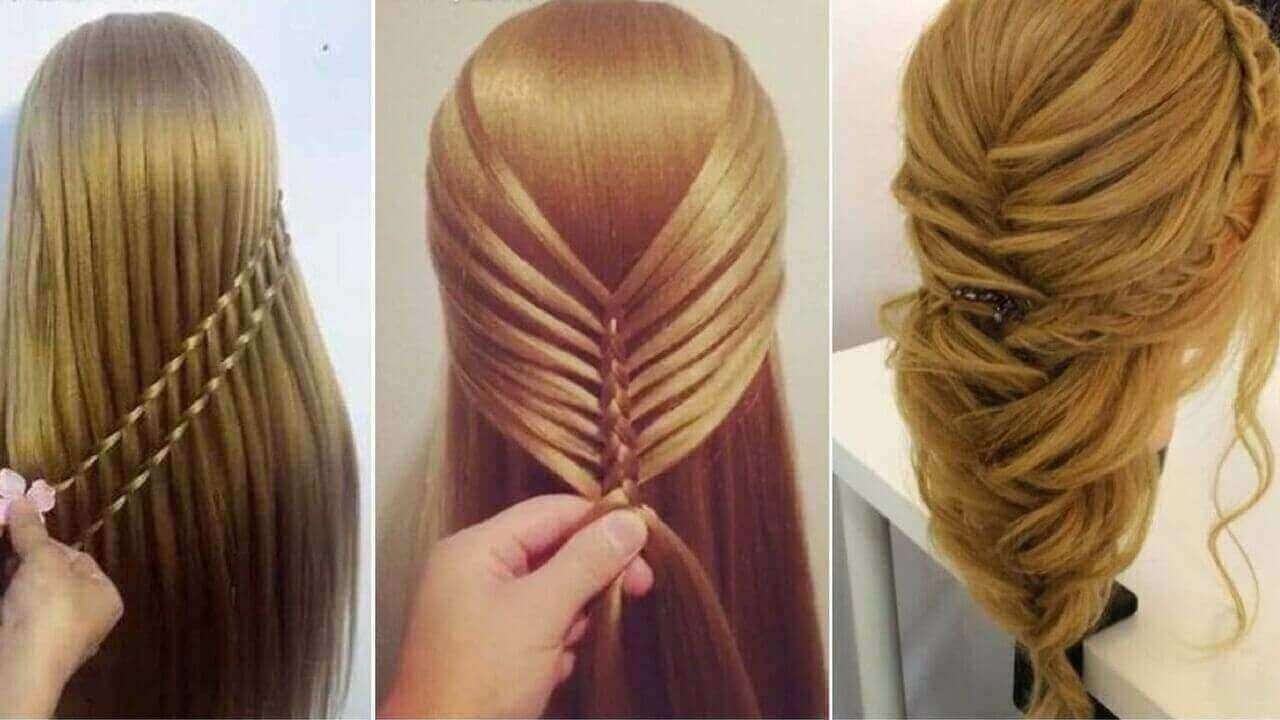 تسريحات شعر للبنات سهلة بالخطوات موضوع يهمك Hair Styles Diy Hairstyles Hair Tutorial