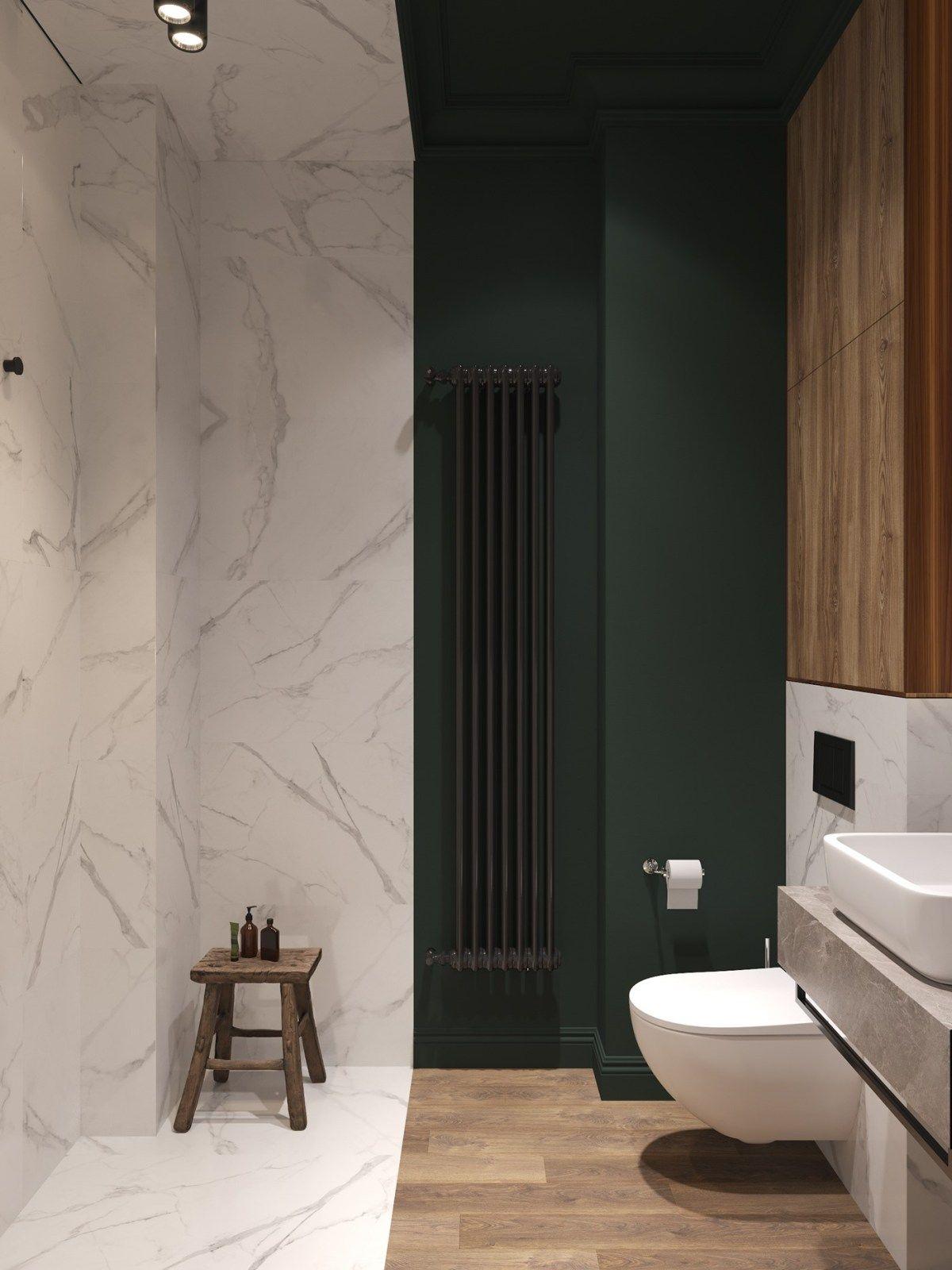 Un appartement classique chic par Cartelle Design  Cuartos de
