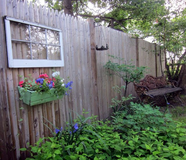 fence7 Gardens in Bloom Pinterest Fences, Gardens and Backyard - Windows Fences