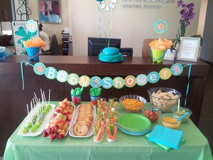finding nemo baby shower ideas Google Search party ideas
