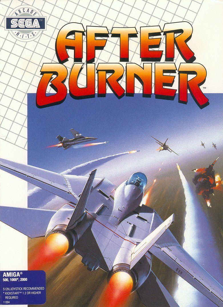 Afterburner - Amiga 500   retro games   Classic video games