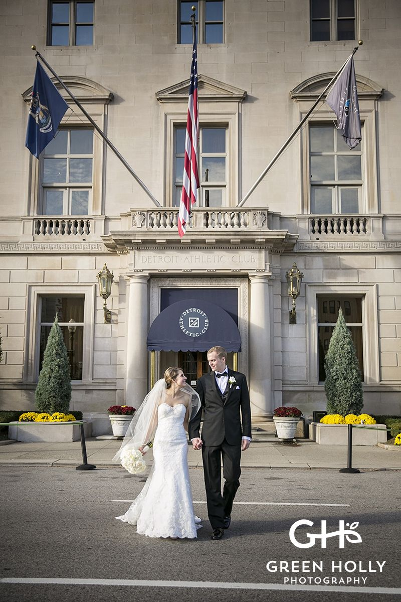 Detroit Athletic Club Wedding. Best Most Affordable Metro