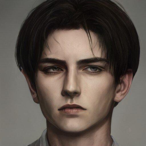 Artbreeder creation in 2021   Digital portrait art