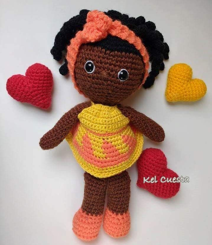 Boneca Amigurumi De Croche, Artesanato, Brinquedo - R$ 139,90 em ... | 831x718