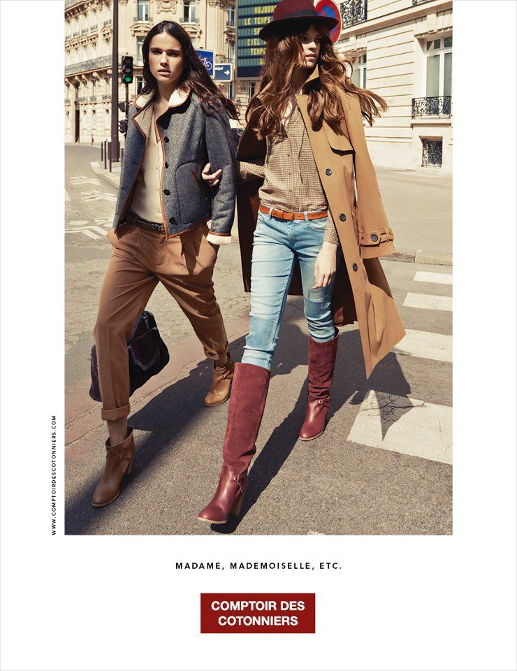 Comptoir Des Cotonniers Fall 2012 Ad Fashion Fashion Outfits Moda Fashion