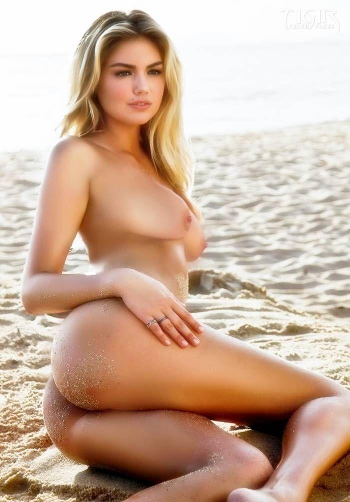 Kate Upton Naked Beach