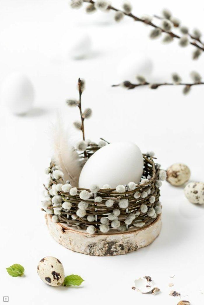 ▷ 1001 + Ideen für Osterdeko basteln aus Naturmaterialien