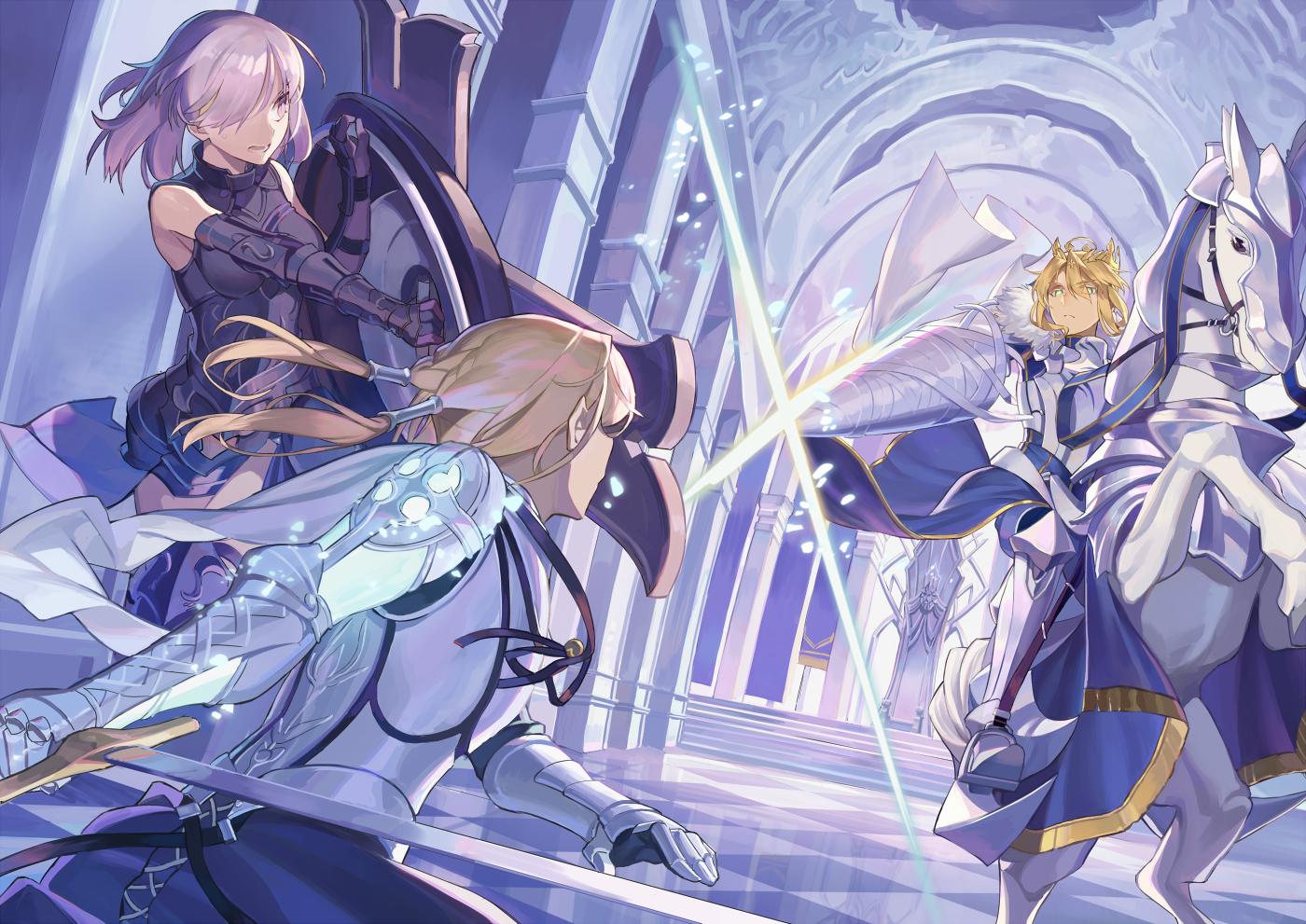 Camelot Showdown Anime, Fate stay night