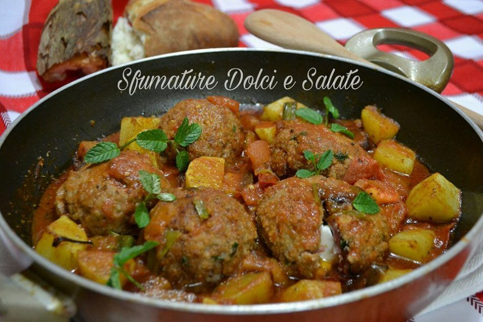 Photo of Stewed meatballs with potatoes Sweet and Salty Shades …