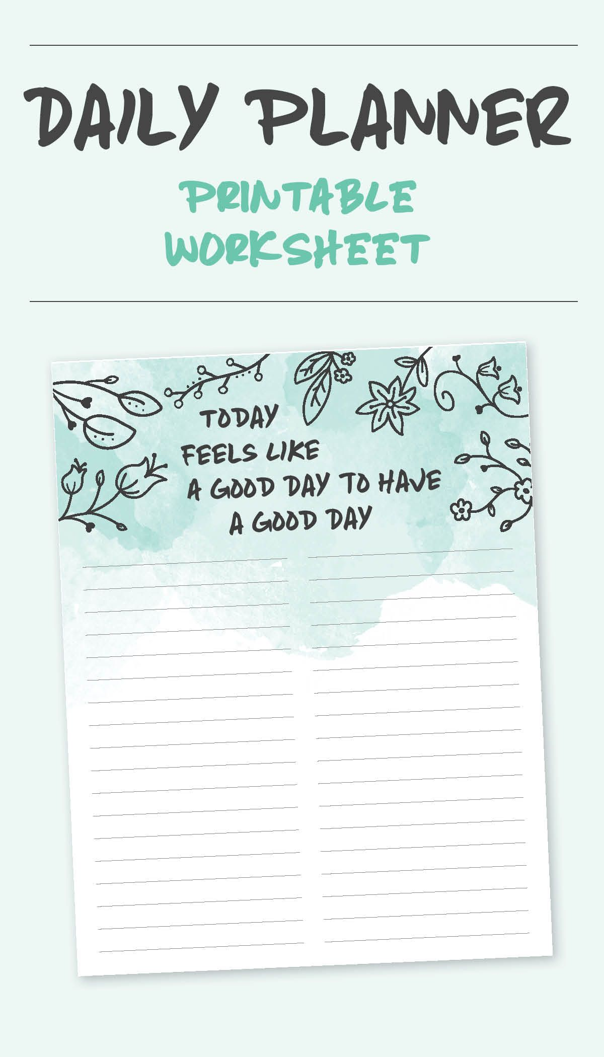 Daily To Do Lists Amp Planners
