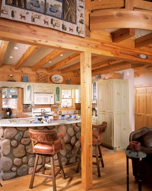 33 Modern Style Cozy Wooden Kitchen Design Ideas: Advice On How To Build A Cozy Cabin On A Budget