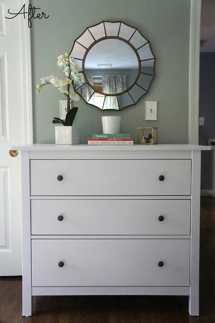 Ikea Hemnes Dresser Guest Bedroom Update