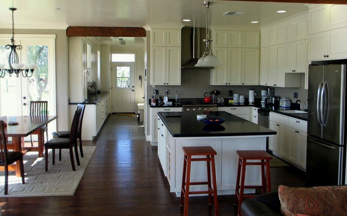 Shaker Cabinets Up To The Ceiling For The Home  Pinterest Pleasing Dining Room And Kitchen Designs Decorating Inspiration