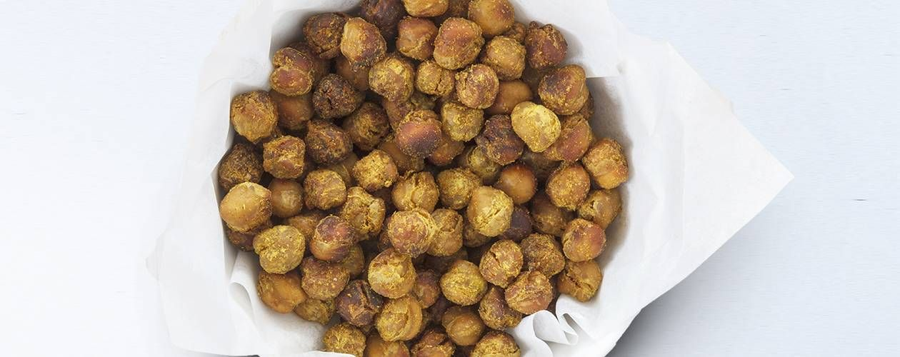 Crispy Pecorino Garlic And Rosemary Chickpeas Recipe Food