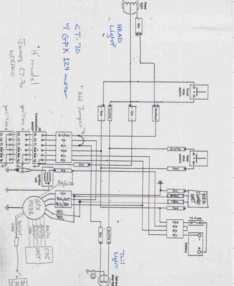 110 Cc Motor Wiring Diagram